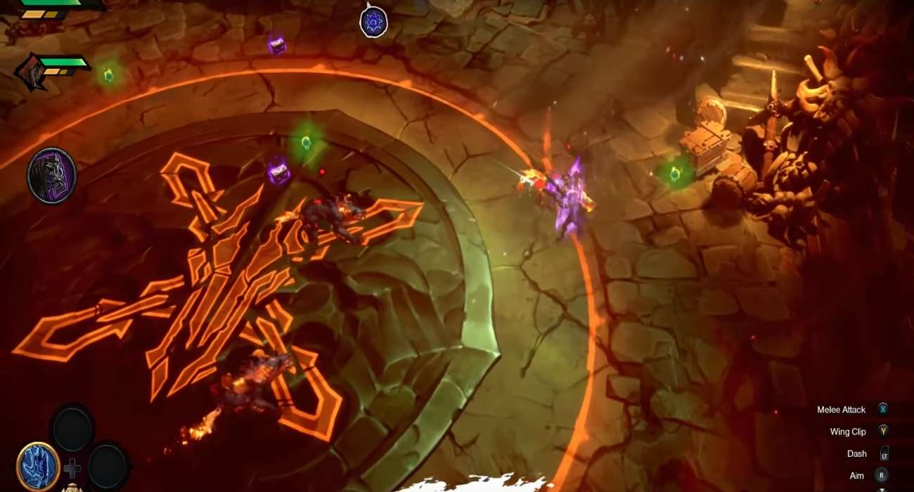 Some More Gameplay Footage Has Come Out For Darksiders Genesis; Features Strife And War In Action
