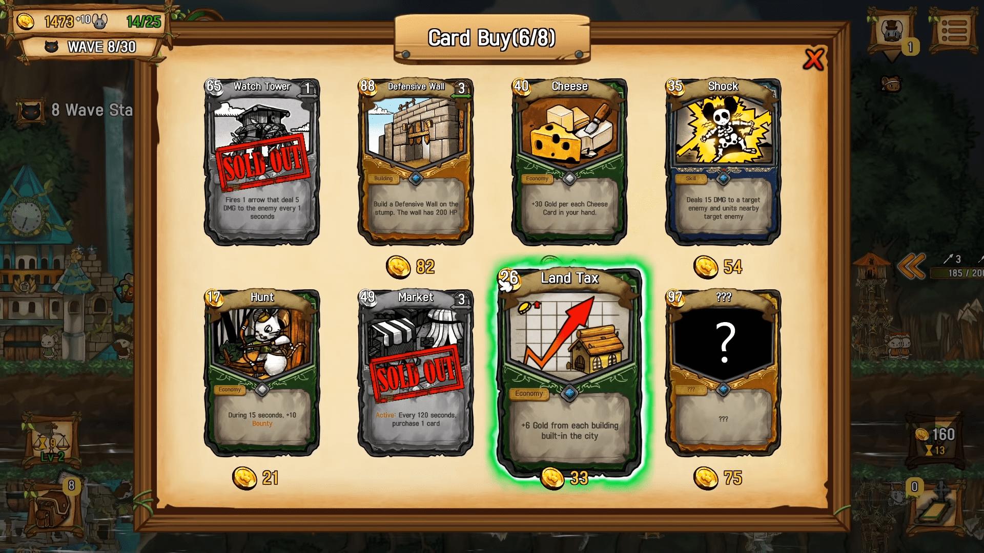 Ratropolis card merchant offerings