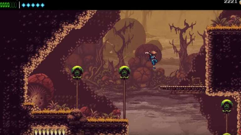 The Messenger Is A Retro Action Platformer That's Currently Free On The Epic Games Store