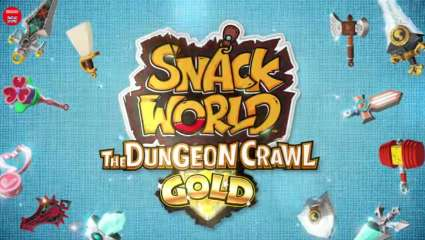 Snack World: The Dungeon Crawl GOLD Is Coming To The Western World In February 2020 On Nintendo Switch