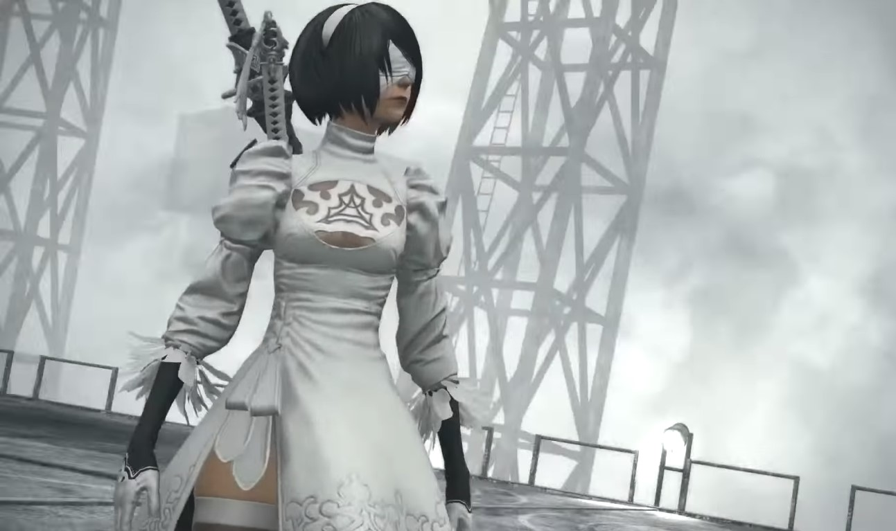 2B's Famous Butt Outfit Now Available In Final Fantasy XIV As Part Of The Upcoming Patch 5.1