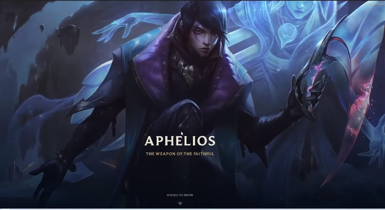 League Of Legends Introduces New Champion To Runeterra, The Assassin Aphelios, And His Twin Sister Alune