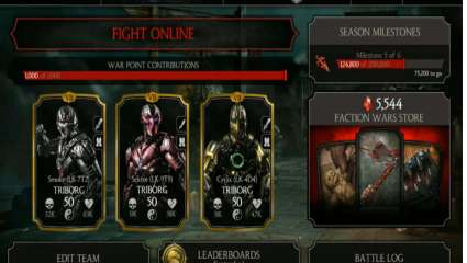 Triborg Comes In For The Weekly Mortal Kombat Mobile Challenge Tower For Players To Unlock