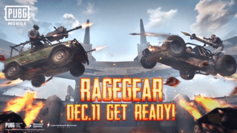 New Mode Heading To PUBG Mobile Called Rage Gear, Announced During PMCO Global Finals 2019