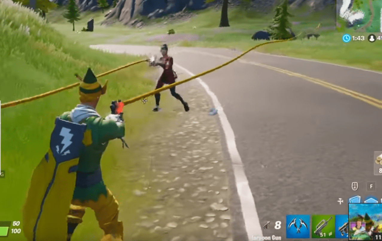 Fortnite: The November 5 Content Update Brought With It A Harpoon Gun, Weapons Upgrade Bench, And The Ending Of An Event