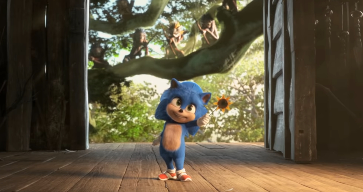 New Sonic The Hedgehog Trailer Reveals New Movie Content Including Baby Sonic