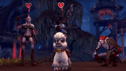 Adopt The Adorable Dottie As A Pet In World Of Warcraft: Battle For Azeorth And All Proceeds Will Go Towards Changing Lives