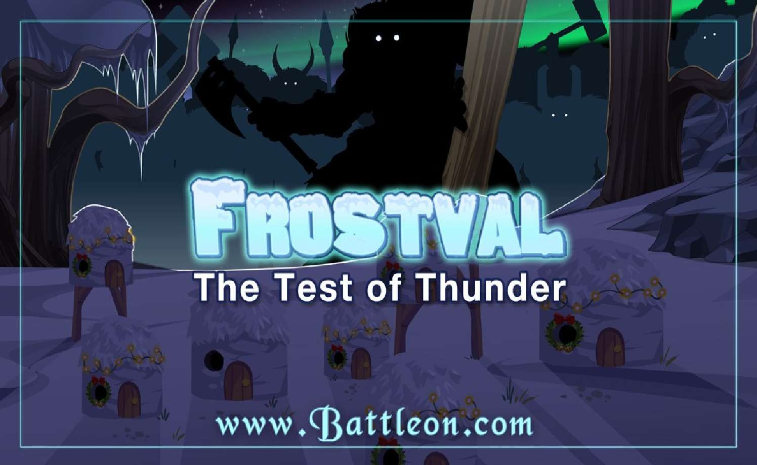 The Original AdventureQuest Celebrates Frostval With The Test Of Thunder