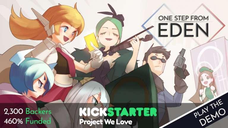Trek Towards Heaven In The Deckbuilding Rouge RPG One Step From Eden