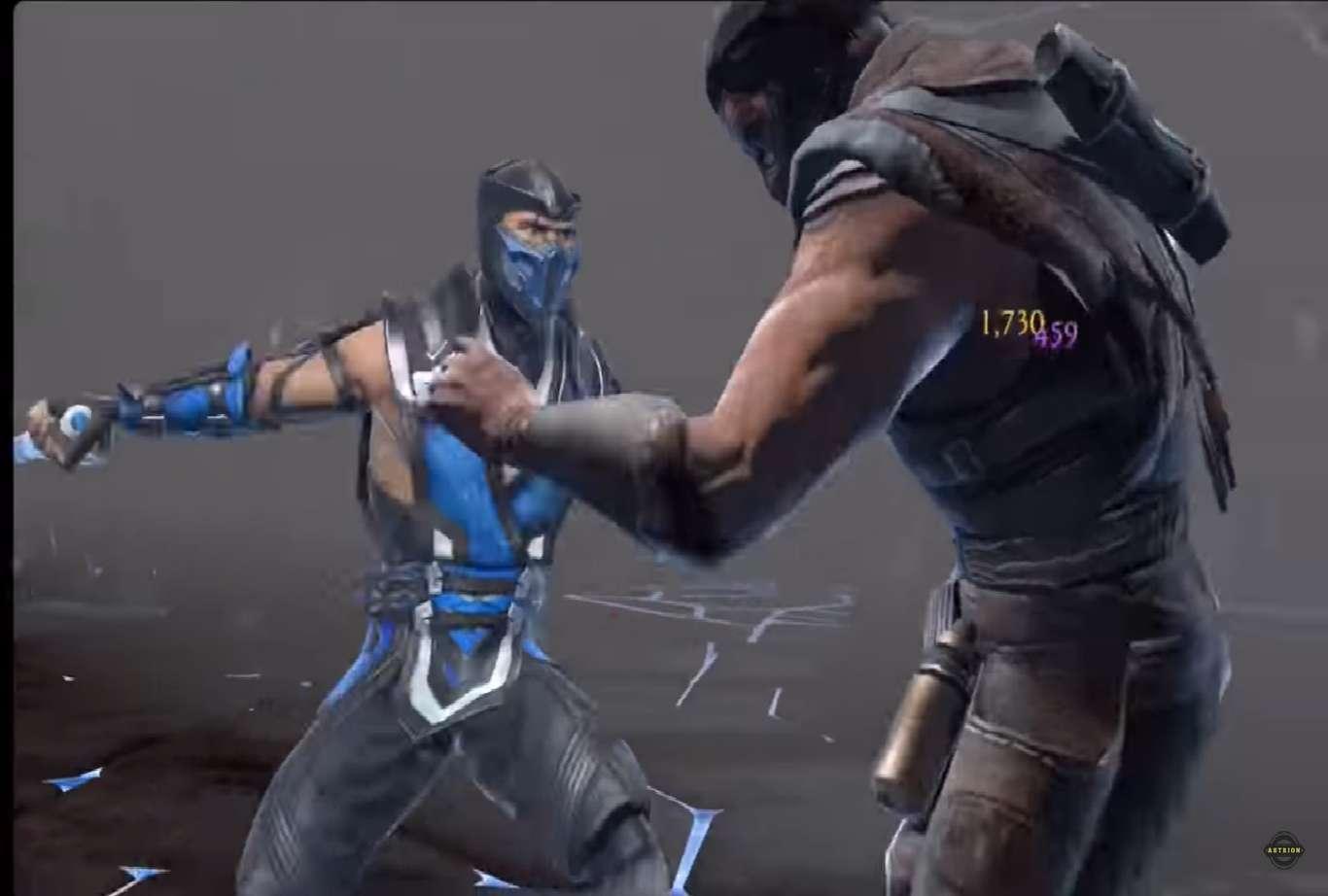 Mortal Kombat Mobile Update 2.4 Focusing On Mortal Kombat 11 Sub Zero For Holiday
