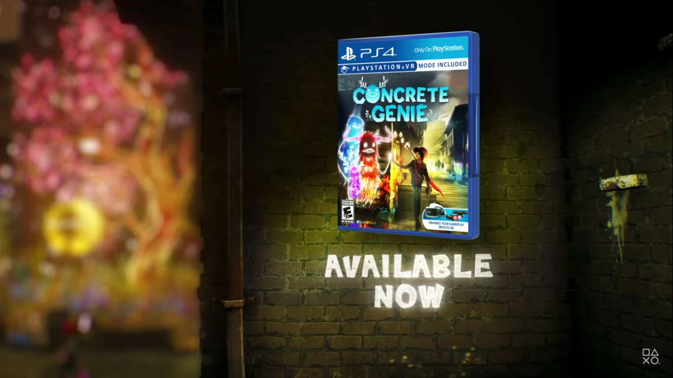 New Festive Free Holiday Brushes Have Been Released For Concrete Genie, A Holiday Treat From Pixelopus