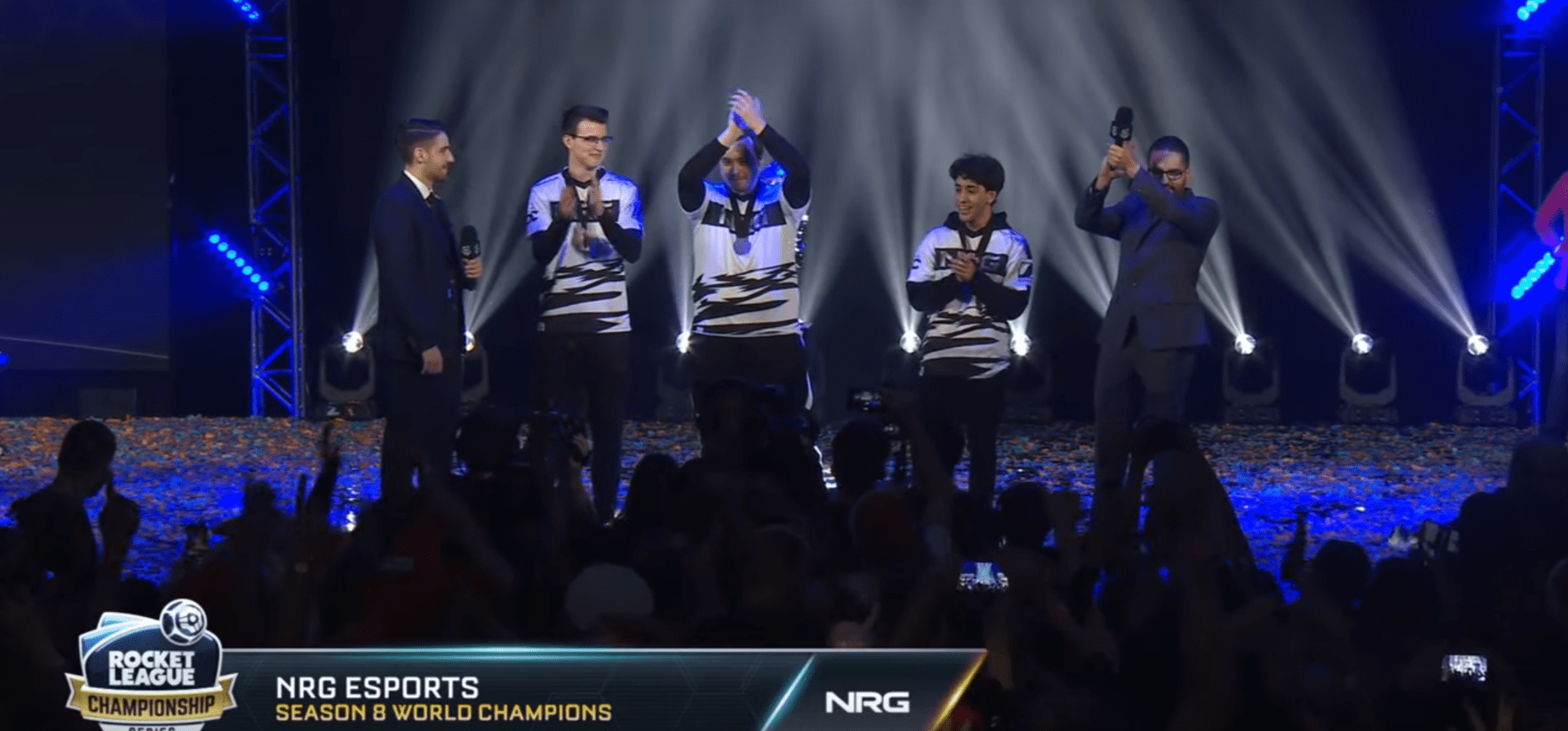 Rocket League Season 8 World Champions Have Been Crowned, NRG Esports Wins The Gold