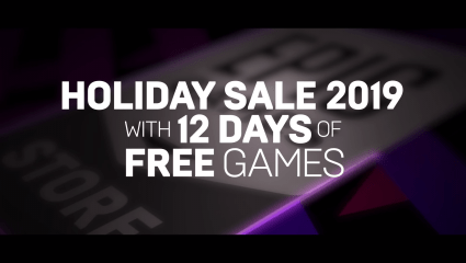 Epic Game Store Will Soon Offer Twelve Free Games For The Twelve Days Of Christmas