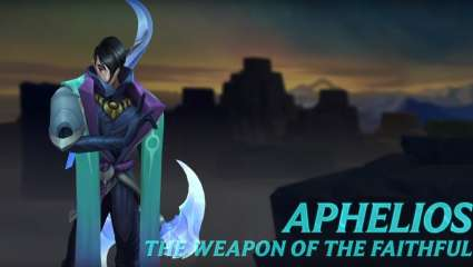Riot Has Released a New Champion: Aphelios, the Weapon of the Faithful