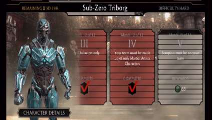 Triborg Sub Zero And Shao Kahn Come In For Their Weekly Towers In Mortal Kombat Mobile