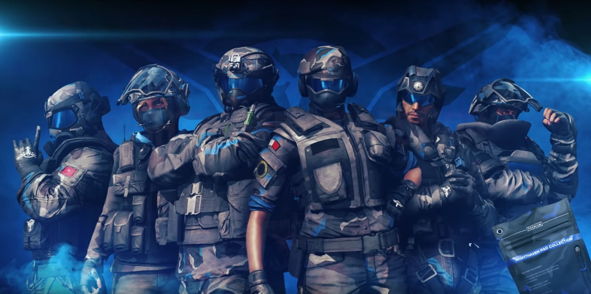 Ubisoft Adds a Free New Year's Gift for Rainbow Six: Siege Fans