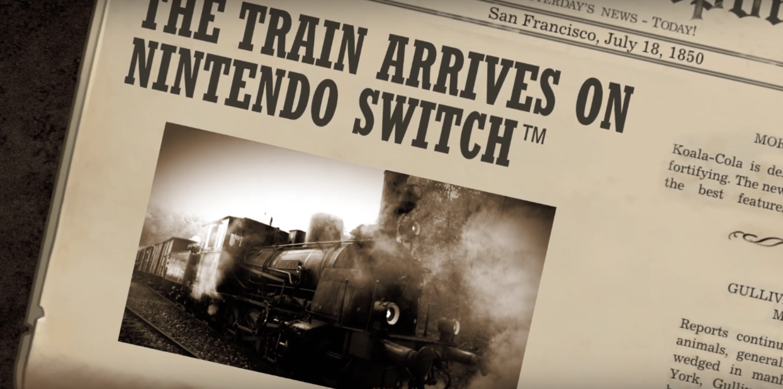 The Train Simulator 'Railway Empire' Is Pulling Up To Nintendo Switch Consoles This February