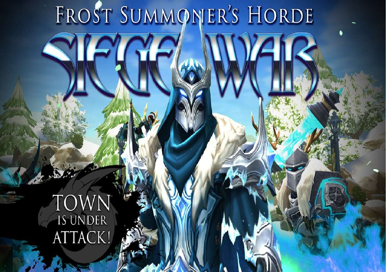 AdventureQuest 3D Has Players Fight The Frost Siege War As Part Of Their Annual Frostval Event
