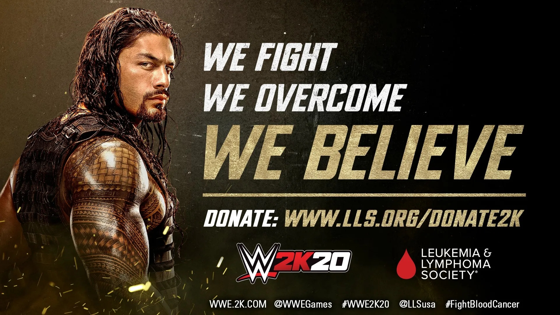 2K Games Will Donate $500,000 To The Leukemia And Lymphoma Society