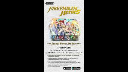 New Year's Warriors Appear In A New Fire Emblem Heroes Update, Four New Chracter Drops And More To Come In 2020 For This Mobile Title