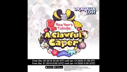 Dragalia Lost Is Having A Clawful Caper Event For New Year's, One Of Many Games Having A Celebration For 2020