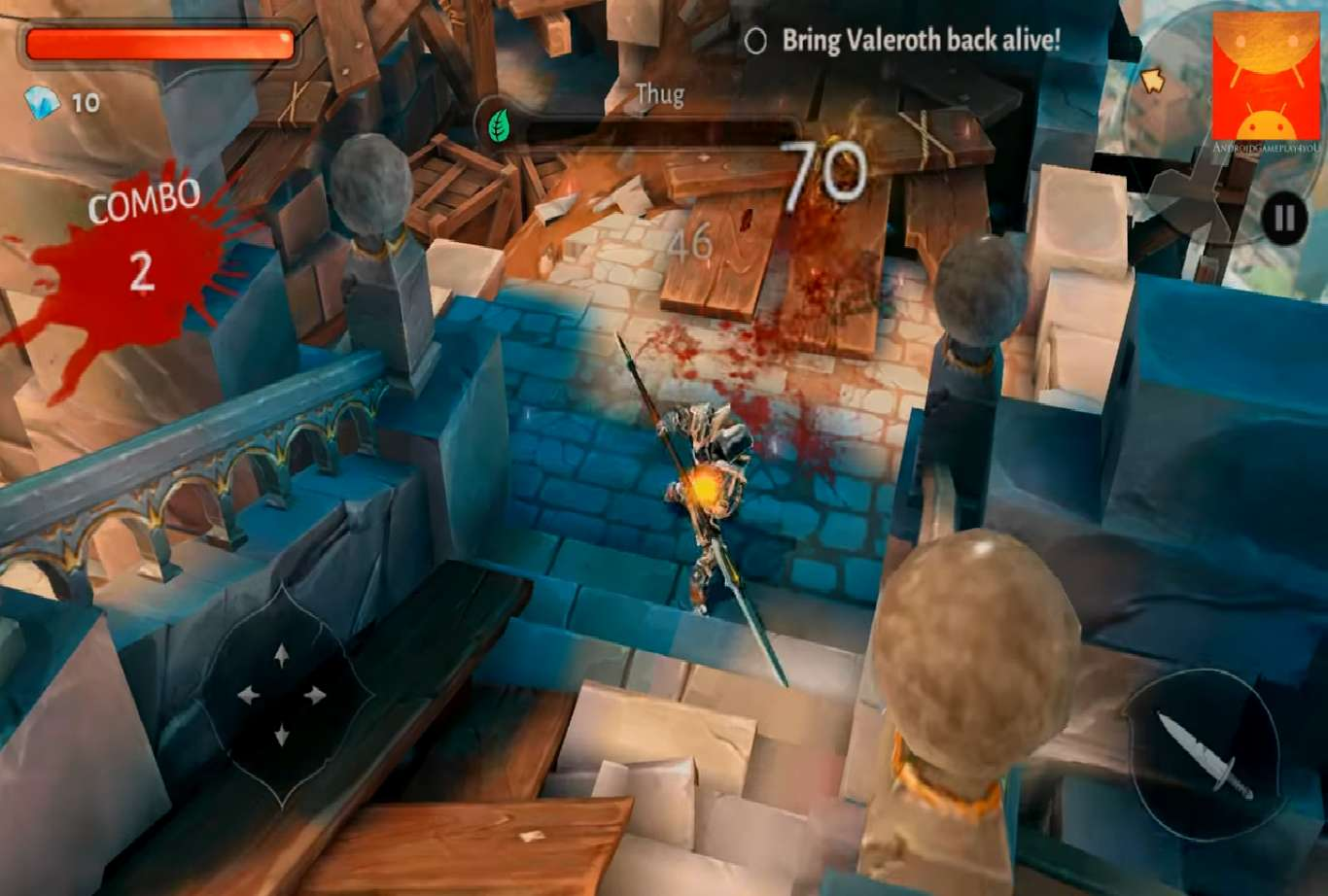Dungeon Hunter 5 Updates To Version 37 And Brings In Holiday Cheer To The Game