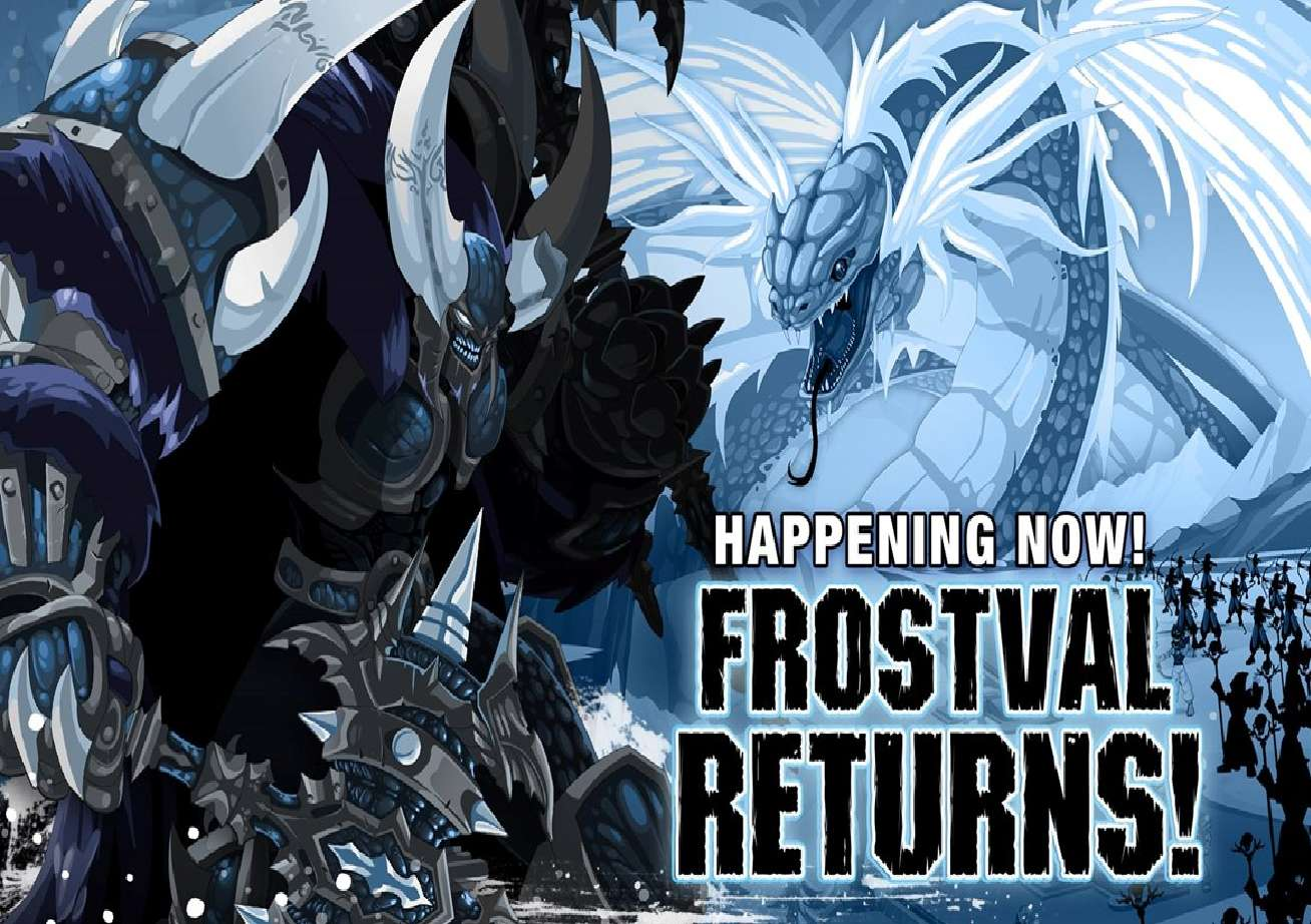 Frostval Returns To AdventureQuest And All Other Artix Entertainment Games