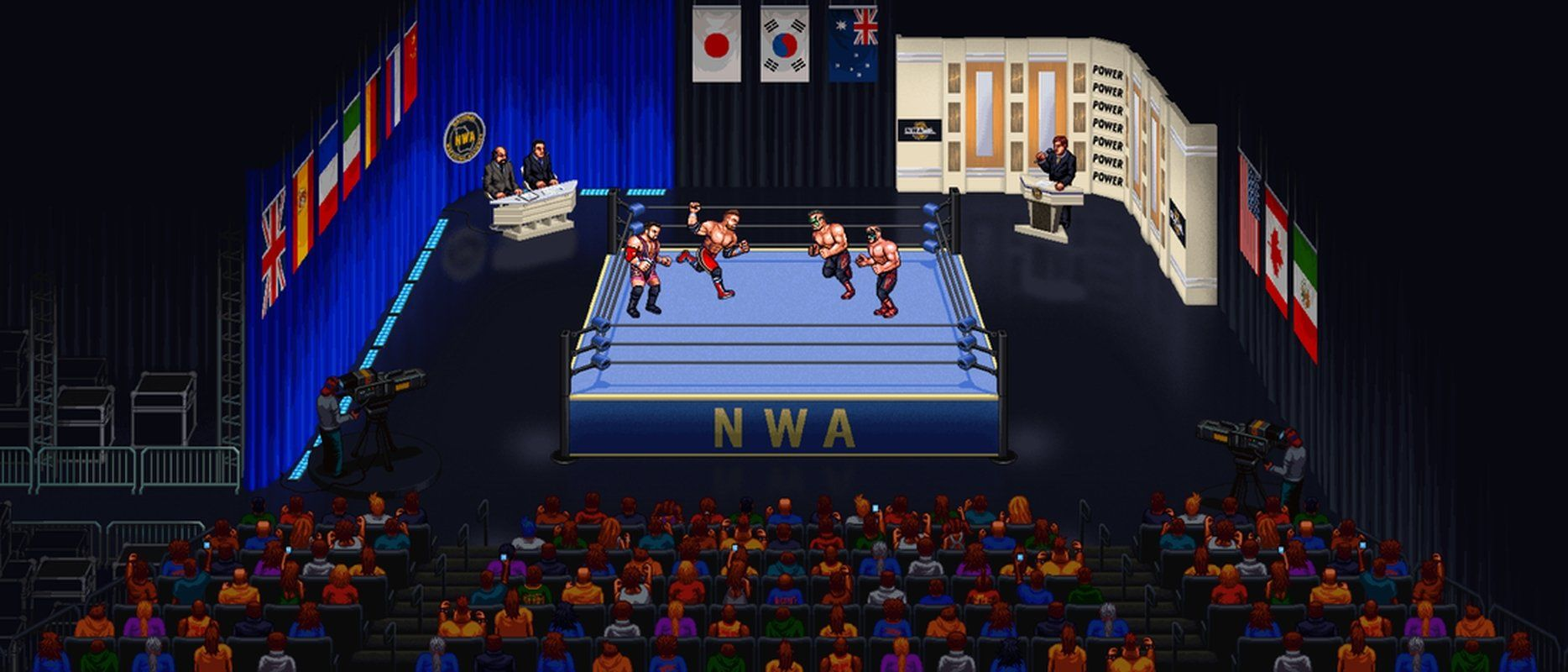 "RetroMania Wrestling Announces ""IndieMania"" To Include Indie Wrestlers Into New Game"