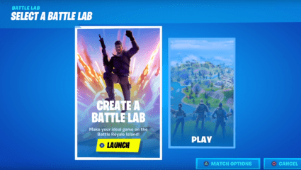 Fortnite Receives The New Mode Battle Lab, Allowing Gamers To Customize The Own Battle Royale Match