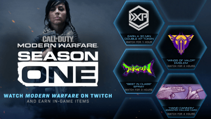 Watching Call Of Duty: Modern Warfare Twitch Streams Will Earn Player In-Game Rewards