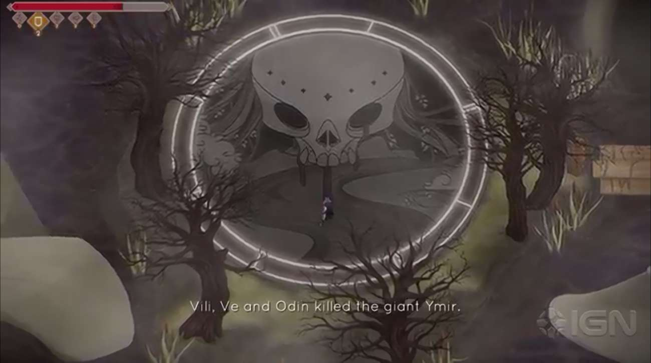 The Hand-Drawn Jotun: Valhalla Edition Is Being Offered For Free On The Epic Games Store