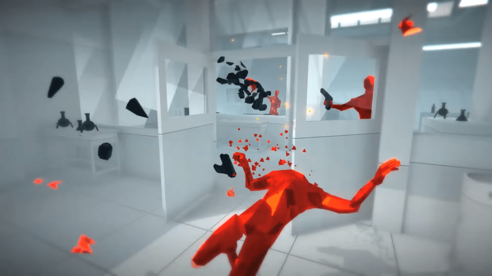 Superhot Mind Control Delete Has Some Users Upset With A Somewhat Snarky End State