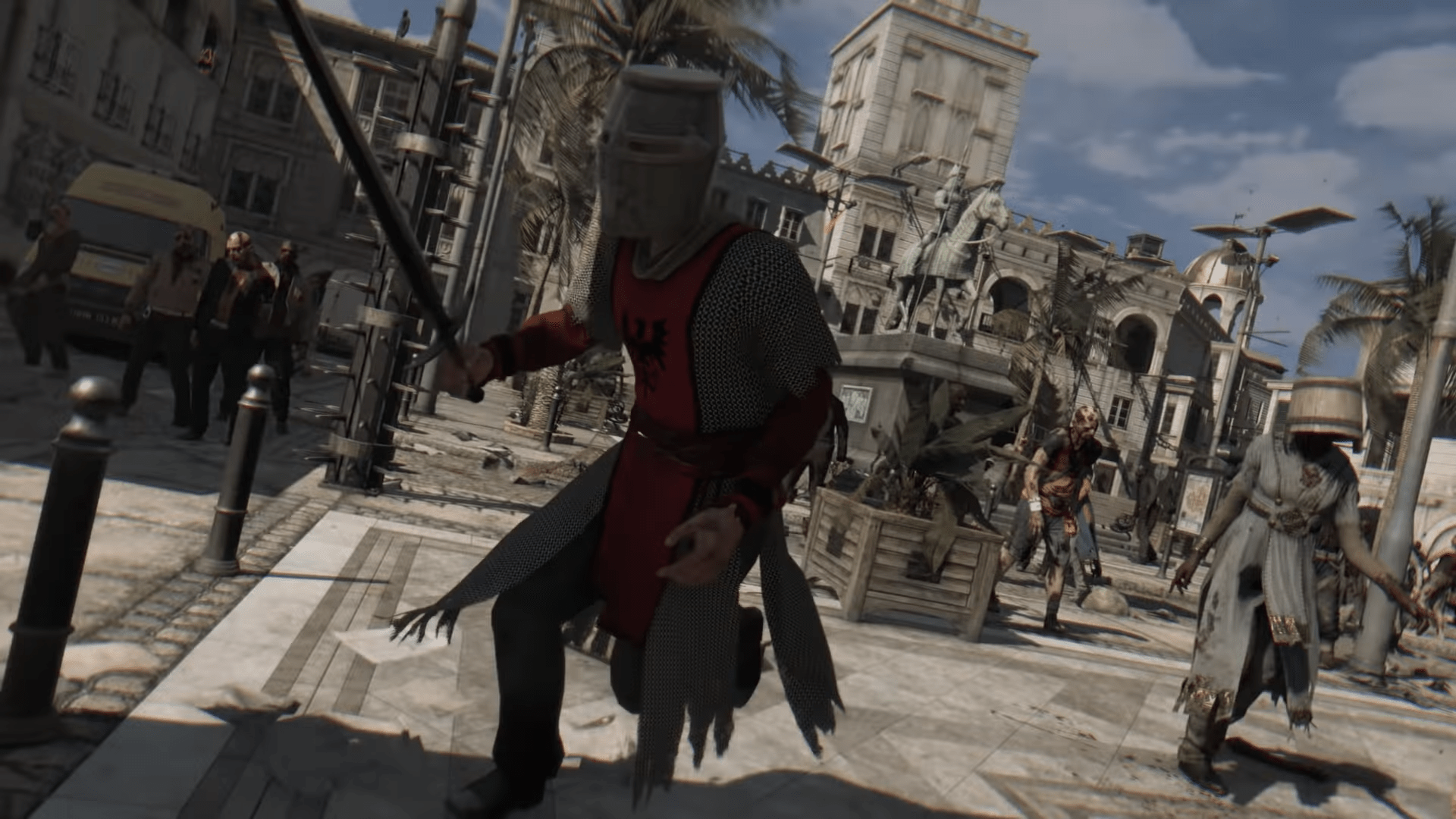 Dying Light Joins Forces With Chivalry In The Newest Undead Community Challenge
