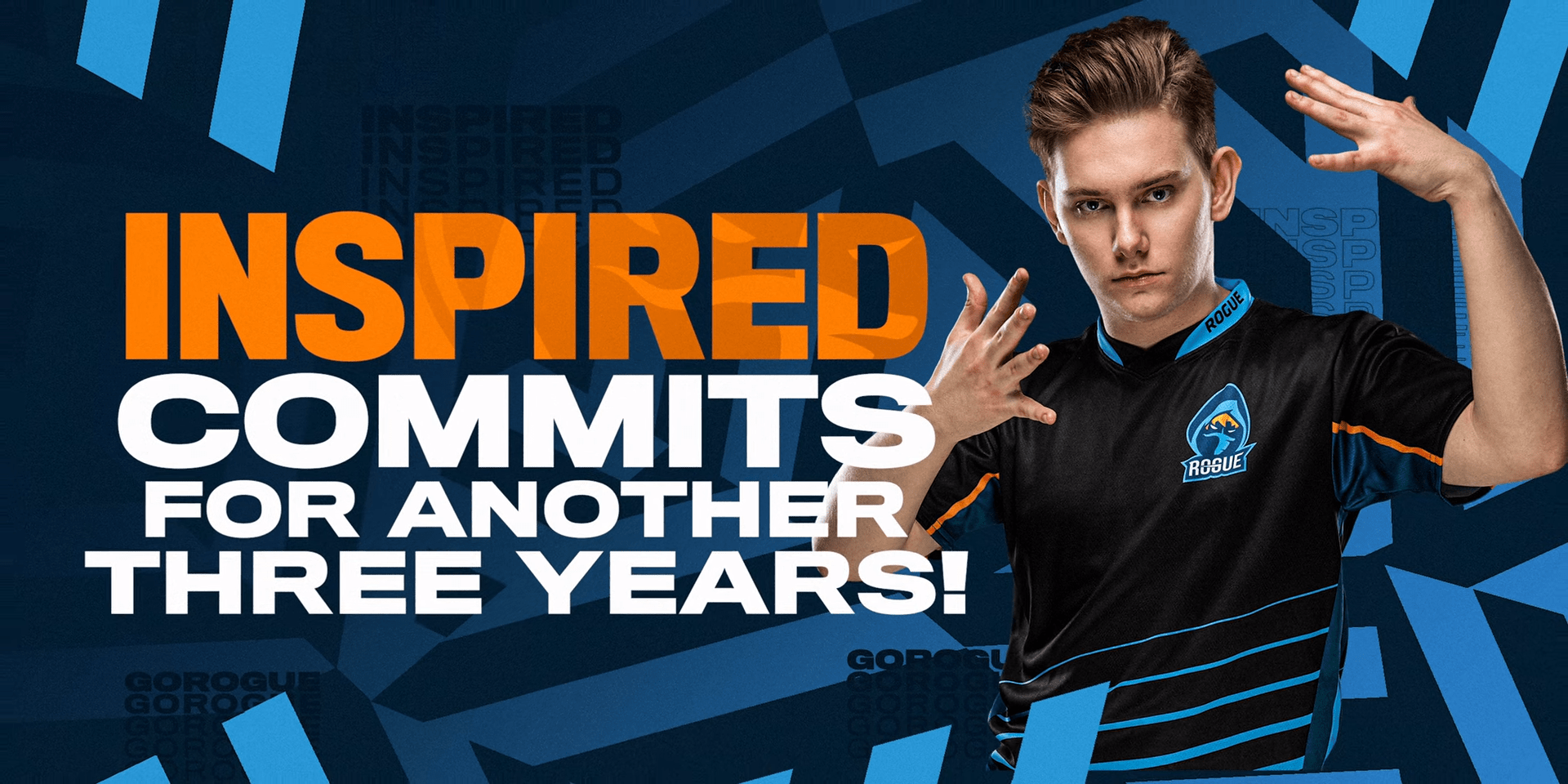 Rogue Finalizes Roster By Extending Inspired's Contract For The LEC 2020 Season