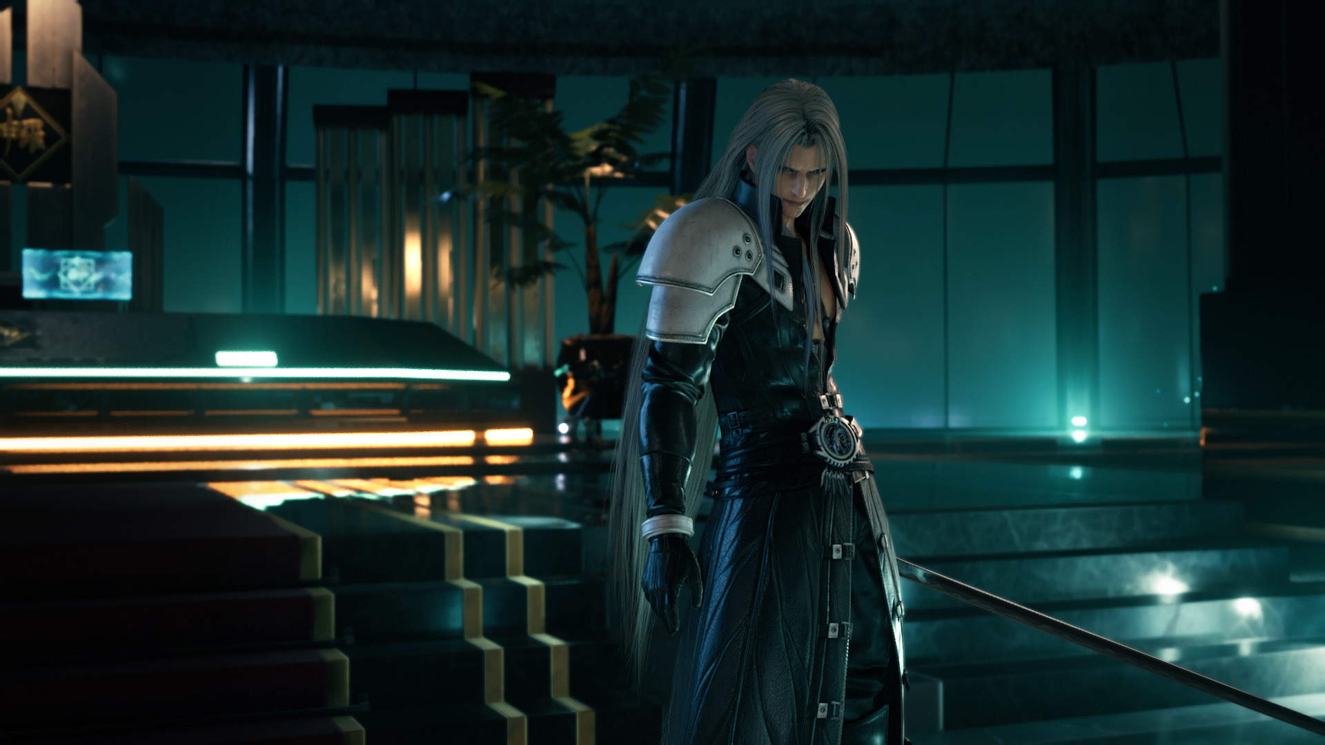 Sephiroth Wallpaper And Avatars Added To The Official Site For