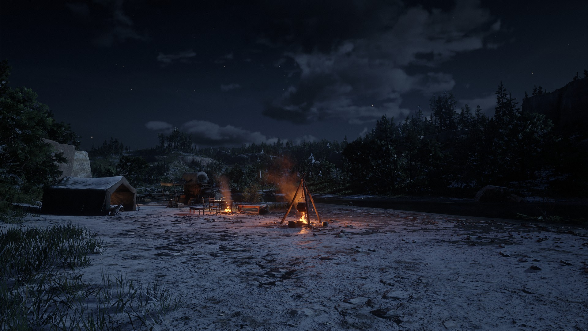 Red Dead Redemption 2 Brings Holiday Cheer With New Winter Update, With Snow And Gifts