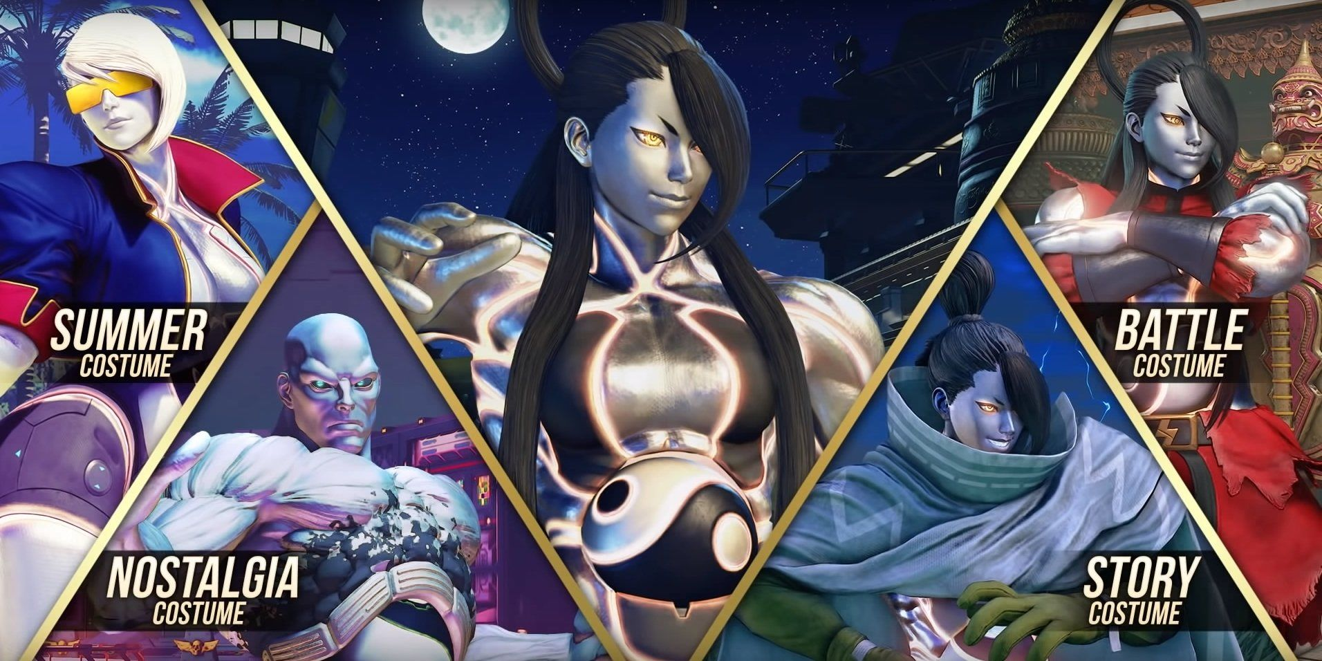 Street Fighter V: Champion Edition Adds Seth into the Battle