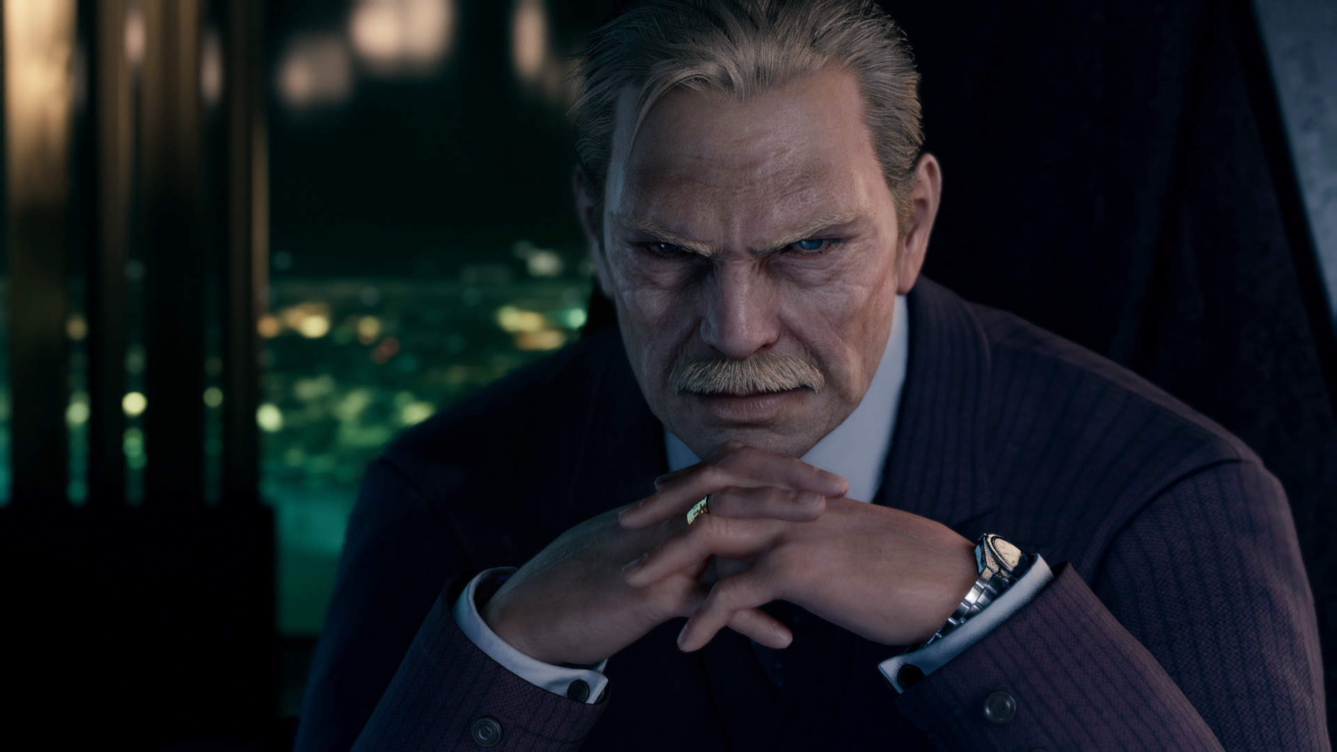Final Fantasy VII Remake Shows Photos And Bios For Top Shinra Executives, Including President Shinra Himself