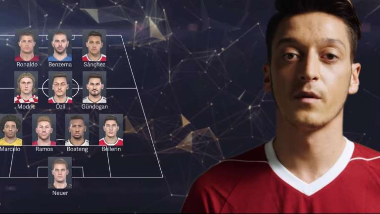 PES 2020 Has Removed German Arsenal Star Mesut Özil After Player Criticizes the Chinese Government