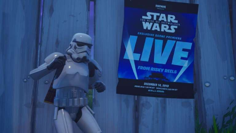 Fortnite Teases 'An Exclusive Scene From Star Wars: The Rise Of Skywalker' Which Will Premiere In-Game This December