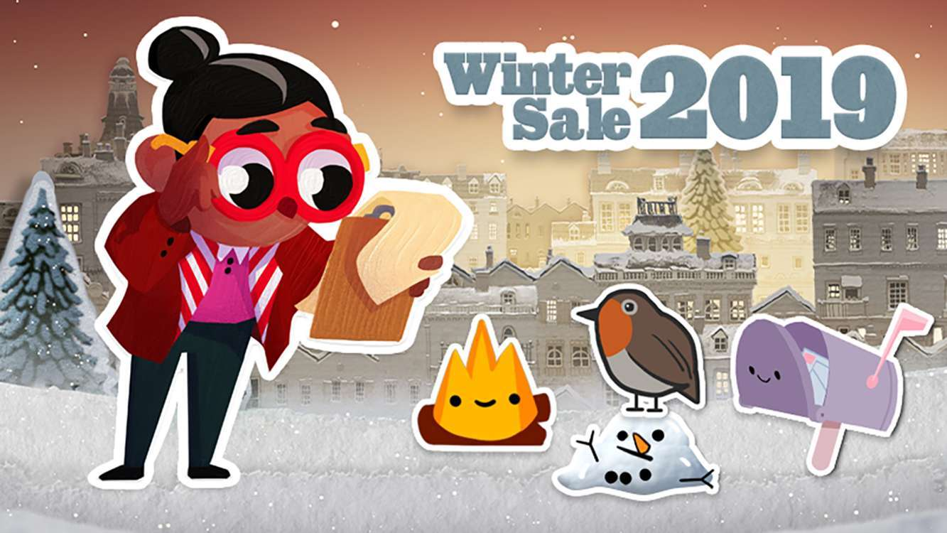 Steam's Winter Sale Brings Sale Event Called Winter Holiday Market With Items And Discounts