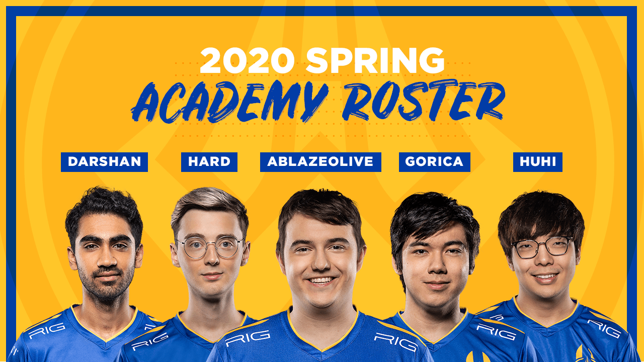 Golden Guardians Has Finalized The Academy Roster Going Into The 2020 Season