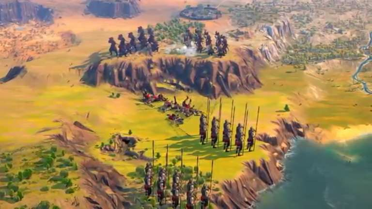 A New Gameplay Trailer For The Strategy Game Humankind Was Shown At The Game Awards