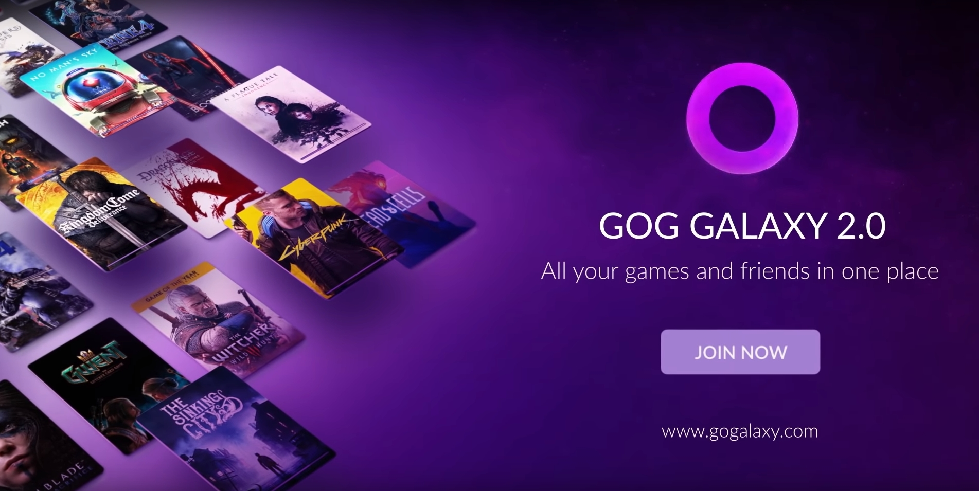 GOG Adds GOG Galaxy App to Compile Games From Multiple Libraries Into One