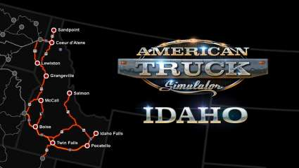 American Truck Simulator Is Loading Up Some Potatos, New Idaho DLC Has Been Announced