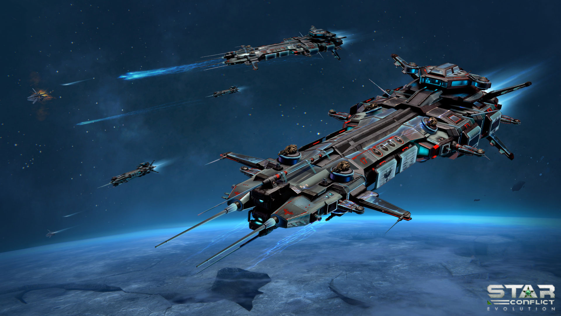 Star Conflict Has Announced A New Content Update Called 'A New Threat,' Star Systems Are Being Invaded And Players Must Unite To Halt This Threat