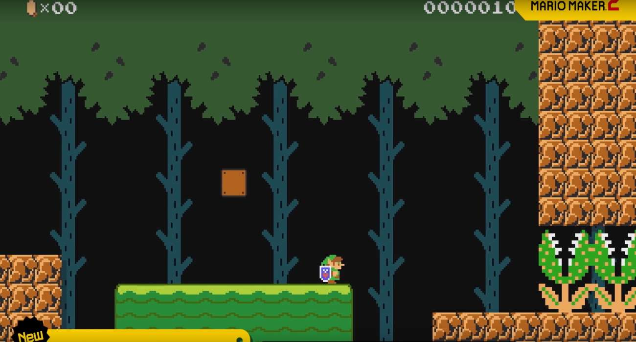 Link Heads to Super Mario Maker 2 Game in New Update!
