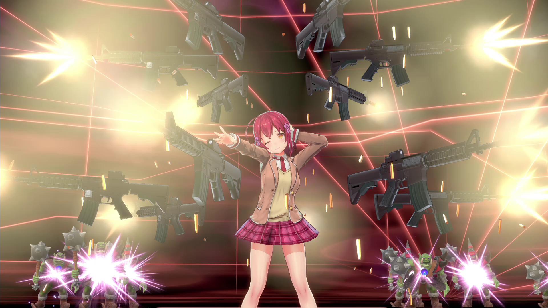 Bullet Girls Phantasia Taking The Battle To Steam In 2020
