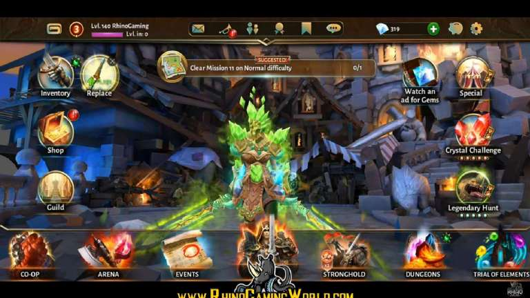 Dungeon Hunter 5 Prepares For Events And Does Some Bug Fixing With Update 38