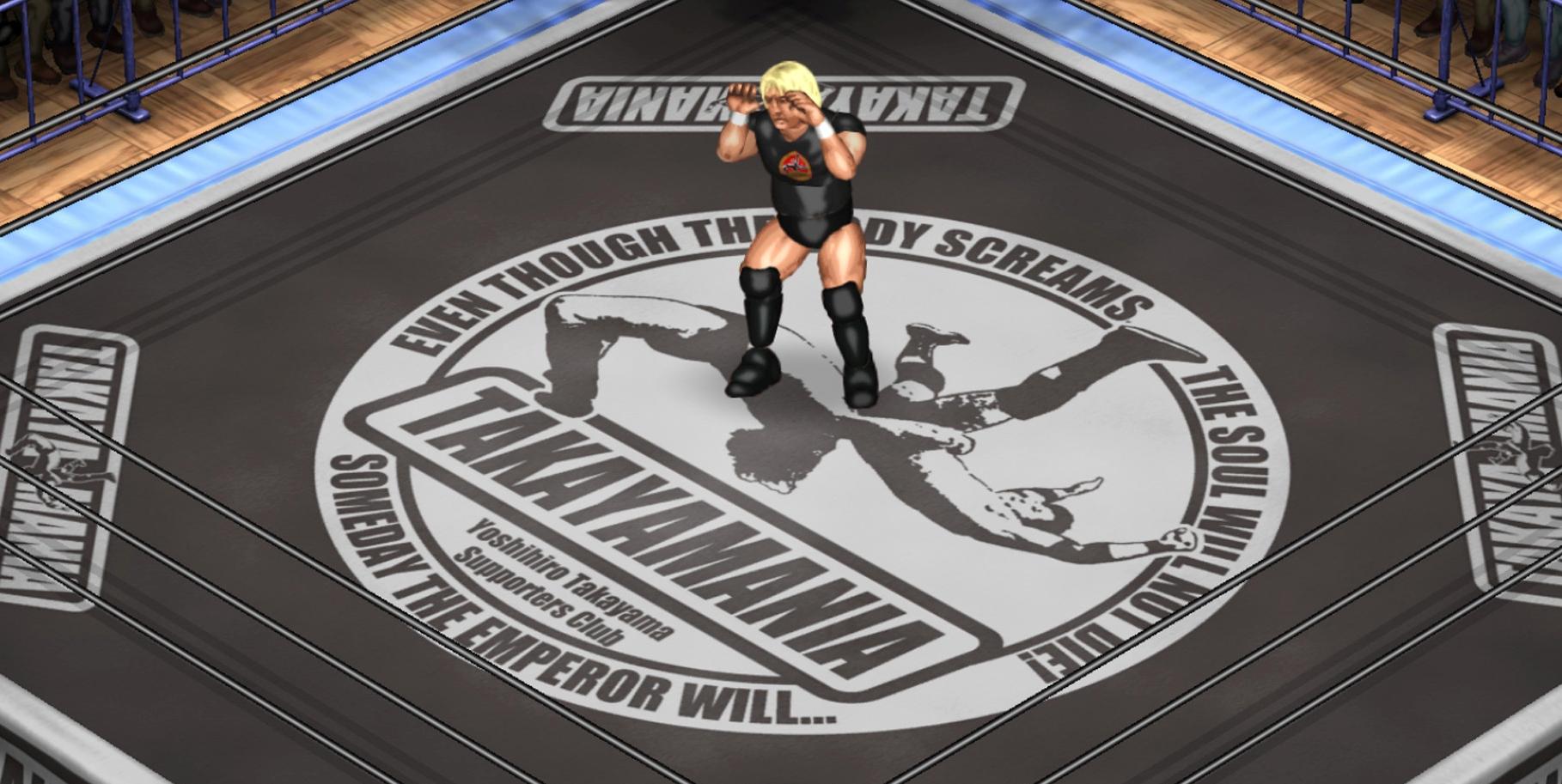 "Second ""Takayamania"" Yoshihiro Takayama Charity DLC Released For Fire Pro Wrestling World"